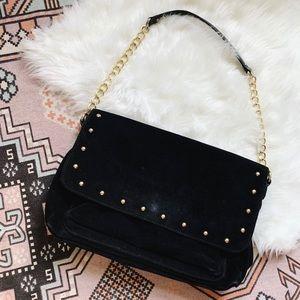 Talbots • Suede Shoulder Bag